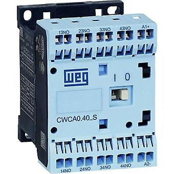Contactor 1 pc(s) CWCA0-31-00C03S WEG 3 makers, 1 breaker 24 Vdc 10 A