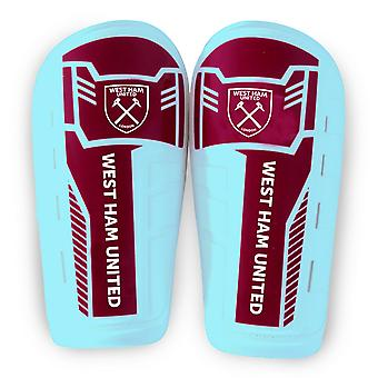 West Ham United FC Boys Official Slip In Shinguards
