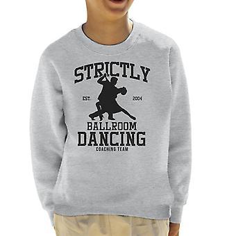 Strictly Ballroom Dancing Coaching Team Kid's Sweatshirt