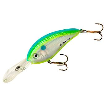 Bomber Fat Free Shad Fingerling 3/8 oz Fishing Lure - Dance's Citrus Shad