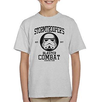 Original Stormtrooper Blaster bekämpfen Coaching Team Kinder T-Shirt
