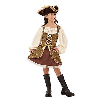 Bnov Pirate Dress  Costume Golden