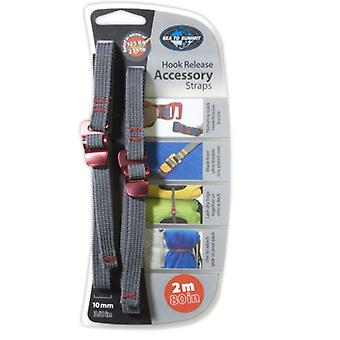 SEA TO SUMMIT HOOK RELEASE ACCESSORY STRAPS 10MM/2M