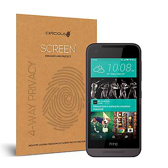 Celicious Privacy Plus 4-Way Antispion filteren Screen Protector Film compatibel met HTC Desire 520