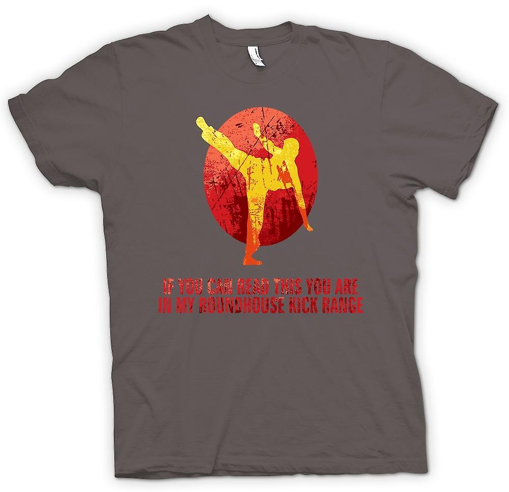 Herr T-shirt-om du kan läsa detta du är min Roundhouse sortiment
