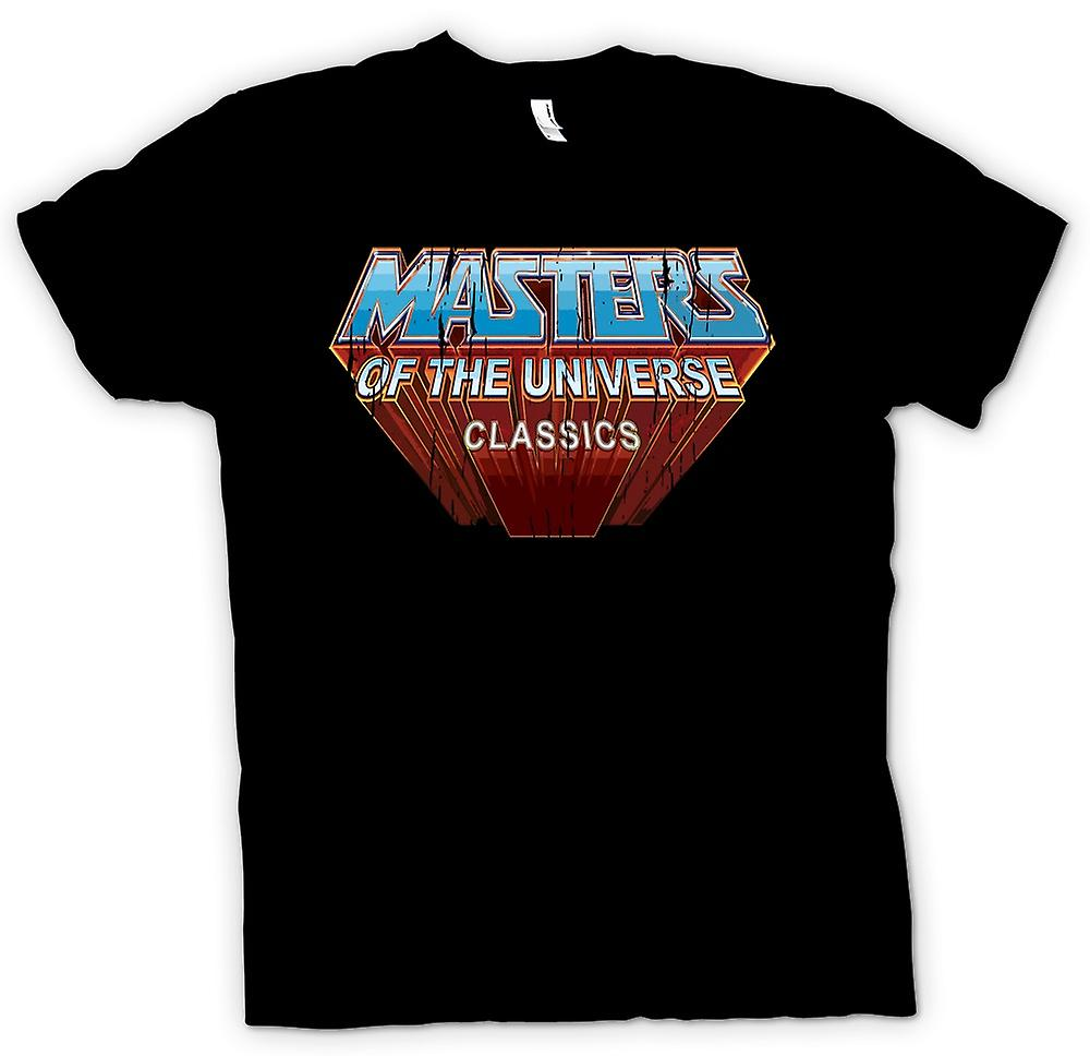 Womens T-shirt - Masters Of The Universe - Klassiker