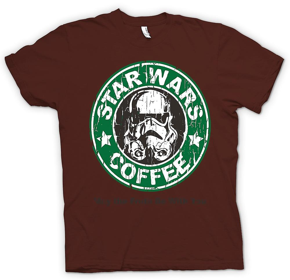 Heren T-shirt - Star Wars koffie - Stormtrooper