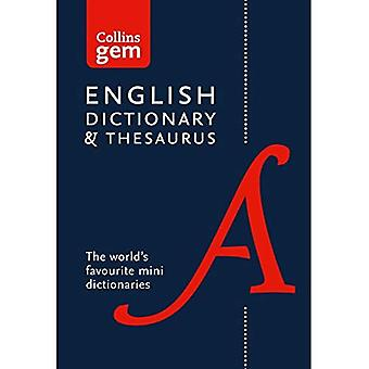 Collins Gem-Englisch-Wörterbuch und Thesaurus (Collins Gem)