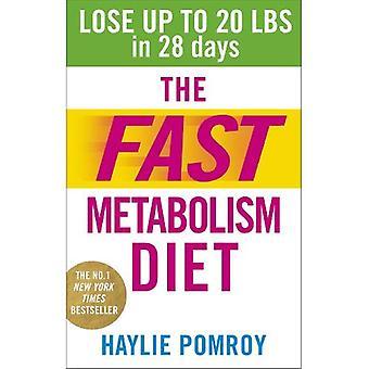 Snabb ämnesomsättning kosten: Förlora upp till 20 Pounds i 28 dagar: Ät mer mat & förlora mer i vikt
