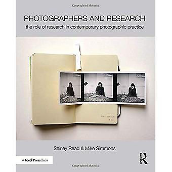 Photographers and Research: The role of research in contemporary photographic practice
