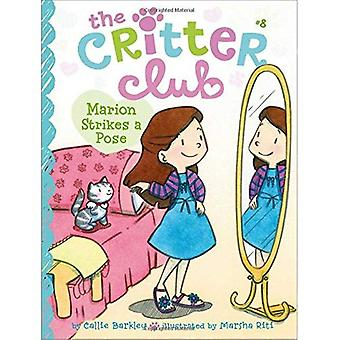 Marion Strikes a Pose (Critter Club)