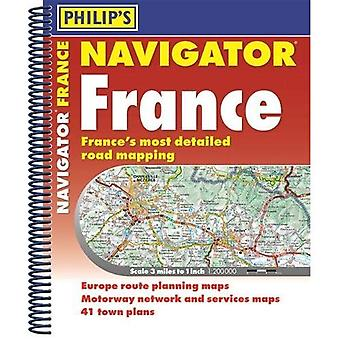 Philip's Navigator Road Atlas France