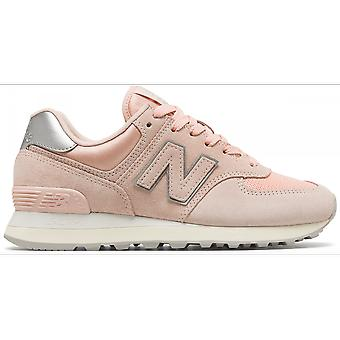New balance shoes WL574 cool ladies sneakers pink
