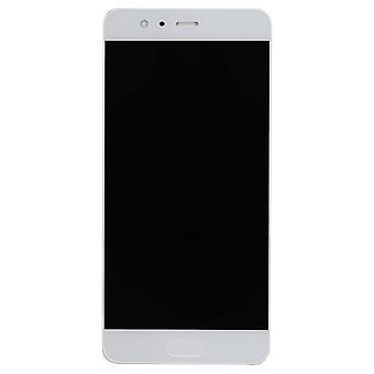 Huawei P10 Plus skærm forsamling med Home knappen - hvid