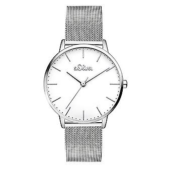 s. Oliver Analog quartz ladies with stainless steel strap SO-3444-MQ