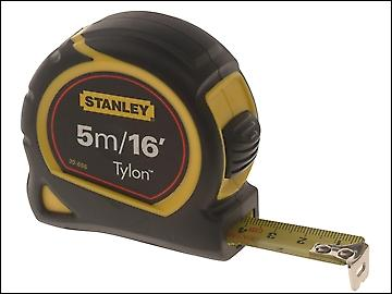 Stanley Tools Pocket Tape 5m/16ft (Width 19mm) Loose