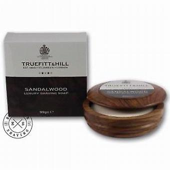 Truefitt and Hill Sandalwood Shaving Soap and Bowl 99g