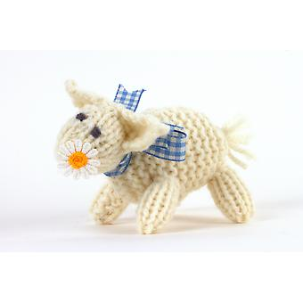 Hand Knitted Spring Lamb Toy