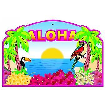 Aloha Cardboard Cutout