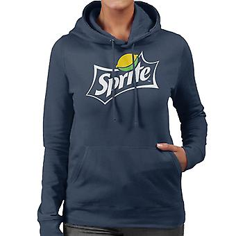 Sprite Lemon Logo Women's Hooded Sweatshirt