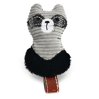 Designed By Lotte Plush Raccoon Cat Toy