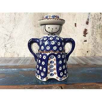 Un aimable, antique, vieux fissures Bunzlauer poterie glaçage peut être