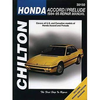 Honda Accord and Prelude (1984-95) (Chilton Total Car Care)
