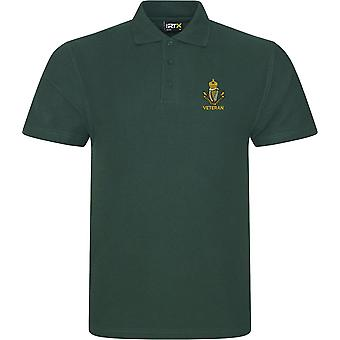 Connaught Rangers Veteran - Licensed British Army Embroidered RTX Polo