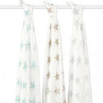 Jane Bamboo Muslins Star (Textile , Child's , Linens)