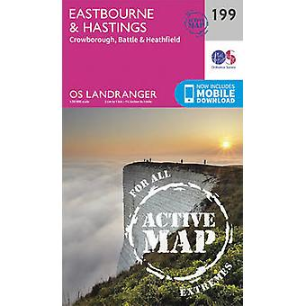 Eastbourne & Hastings - Battle & Heathfield (February 2016 ed) by Ord