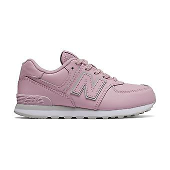 New Balance School Chaussures New Balance Gc574 Light Pink 19247