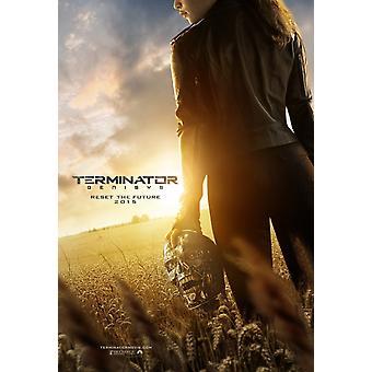 Terminator Genisys Original Film Plakat doppelseitig Advance Style