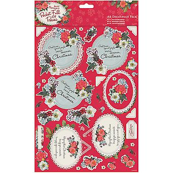 Papermania Pocket vol Posies A4 Decoupage Pack-Mama PM169941