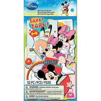 Disney Cardstock Die Cuts 52 Pkg Mickey Family E5100112