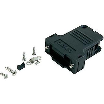 D-SUB housing Number of pins: 50 Plastic 45 ° Black Conec 165X14599XE 1 pc(s)