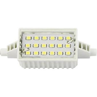 Blanco cálido W de 6 Tubular LED R7s (Ø x L) 28 x 78 mm EEC: LightMe de a + 1 PC