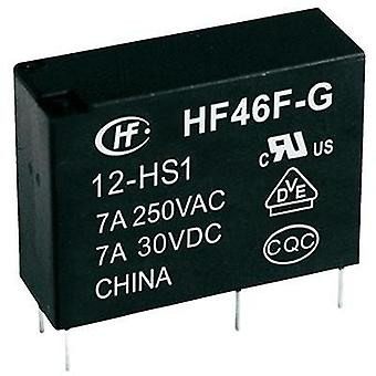 PCB relays 12 Vdc 10 A 1 maker Hongfa 1 pc(s)