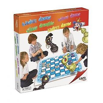 Cayro Checkers-Chess Giant (Spielzeuge , Brettspiele , Strategie)