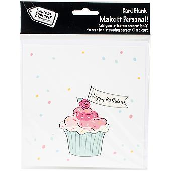 Express Yourself MIP Card-Cupcake DIYCC006