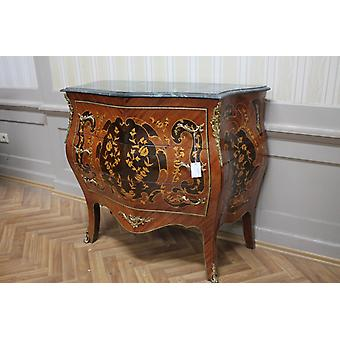 Commode baroque armoire Louis xv style antique MkKm0053Gn