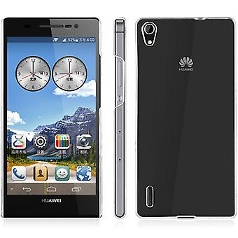 Protective cover case Hard Cover for mobile Huawei Ascend P7 transparent
