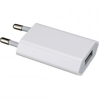 Originale Apple MD813 A1400 USB makt lader 5W, iPhone 4 4S bulk, 3 x skjermbeskytter