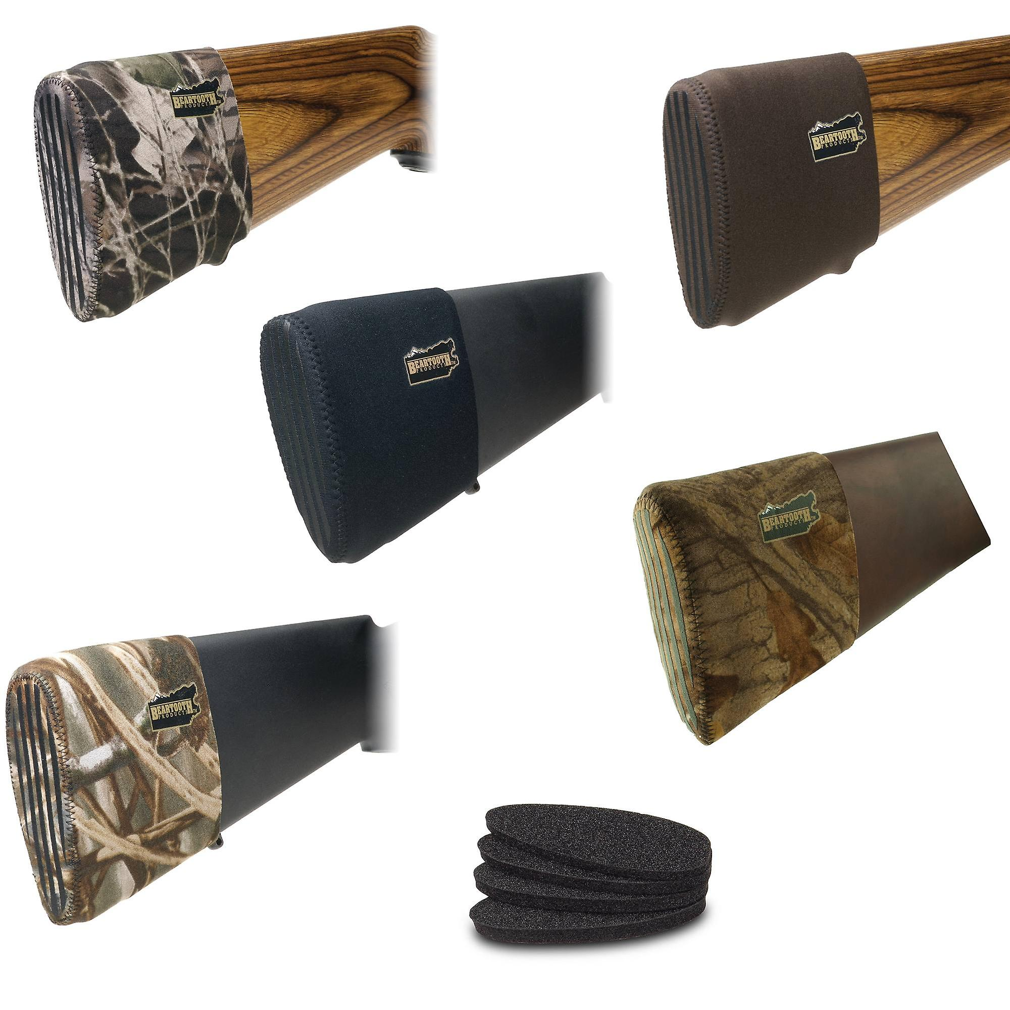 Beartooth Recoil Pad kit - neoprene gun stock pad with inserts eliminate fatigue