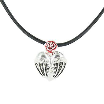 Heartbreaker by Dragon rock ladies silver pendant chain LD HT 33