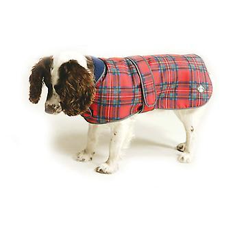 Royal Stewart Tartan Fleeceforet hundebluse 35cm (14