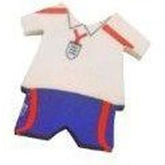 Mini England fotboll Kit Eraser