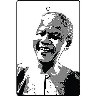Nelson Mandela Car Air Freshener