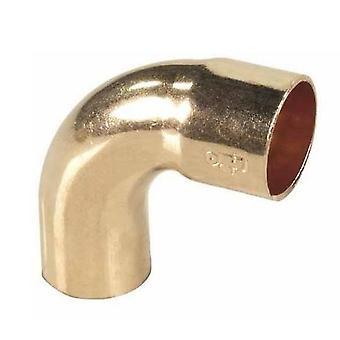 Rør montering bue albue kobber lodde mandlige x kvindelige 18mm Diameter 90deg vinkel