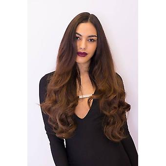 Premium One Piece Clip In Hair Extensions Curly 20