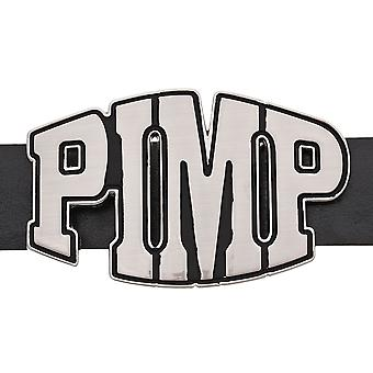 Iced out bling belt - P.I.M.P.